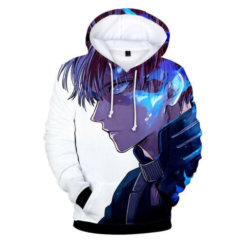My Hero Academia Bakugou Midoriya Izuku Shoto Sweatshirt Pullover Hoodie Cosplay