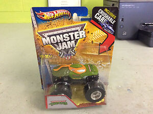 2013-Hot-Wheels-Monster-Jam-Teenage-Mutant-Ninja-Turtles-W-Crushable-Car-NEW