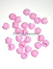 Lego 1x1 PLATE ROUND SWIRL TOP BRIGHT PINK, 15470 Lot of 25, New