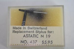 Replacement-Diamond-Turntable-Stylus-for-ASTATIC-N-19-NOS