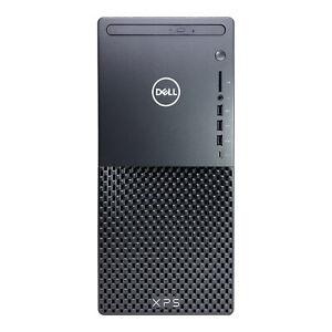 Dell XPS 8940 Tower - 10th Gen Core i5, 8GB RAM, 1TB HDD, DVD-Writer, Windows 10