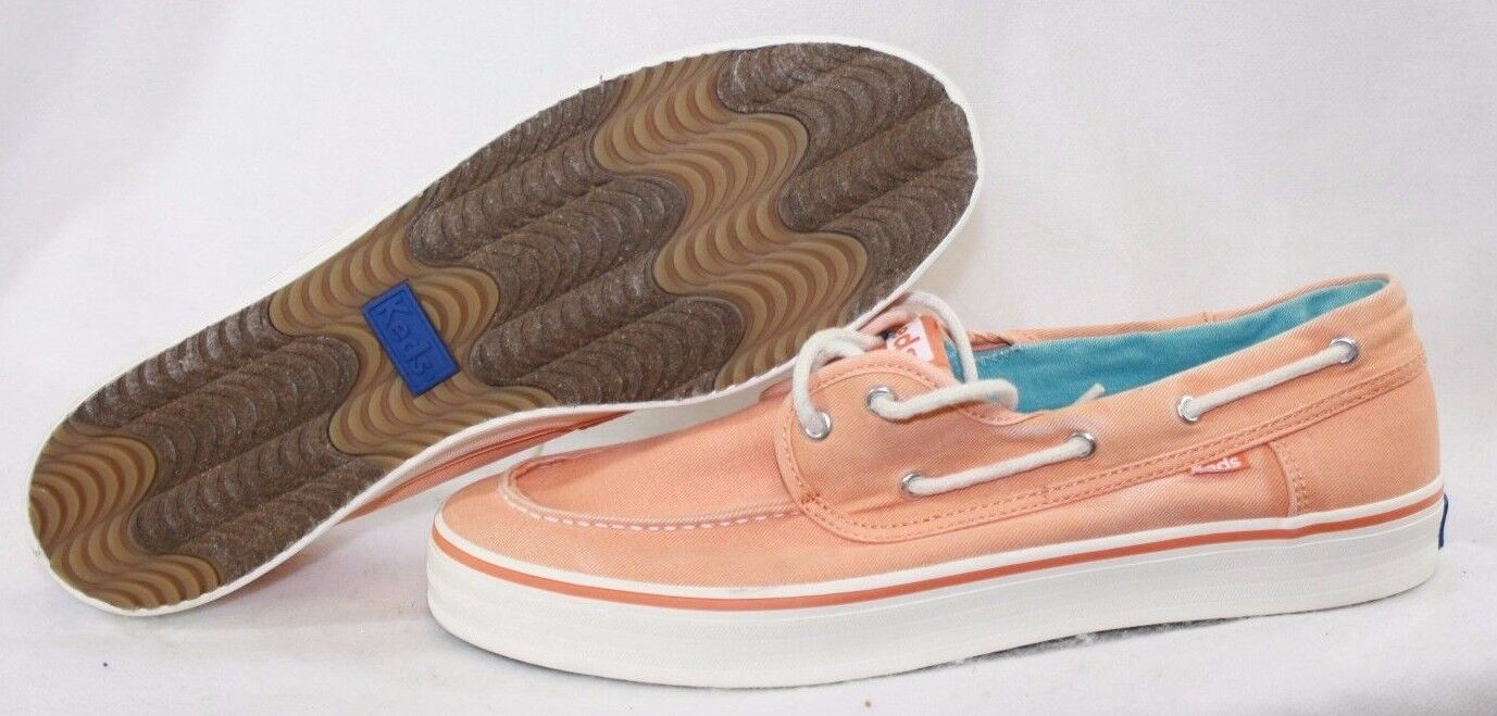 NEW Womens KEDS Baybird Nectarine WF50347 Boat Style Sneakers shoes