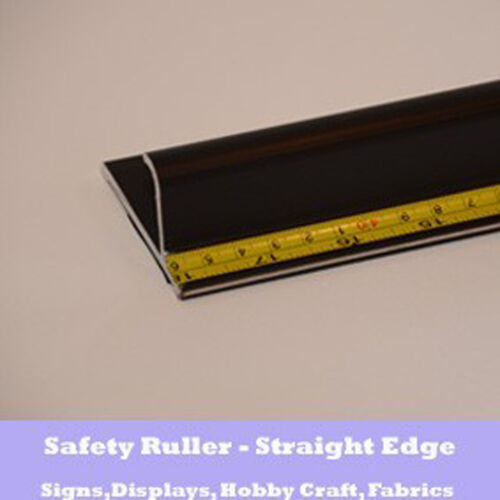 Aluminium Anti-slip Cutting Sign Makers Ruler 132cm