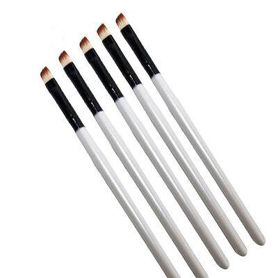 5Pcs Professional Elite Angled Eyebrow Brush Eye Liner Brow Makeup Tools