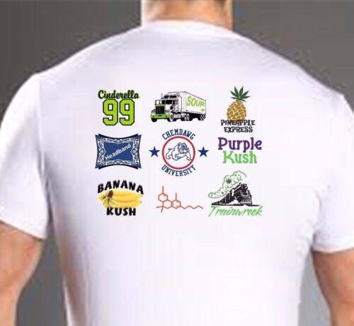 Marijuana Leaf 420 Vape Pot Shirt Sticky Goods Variety Sampler T Shirt Any Size