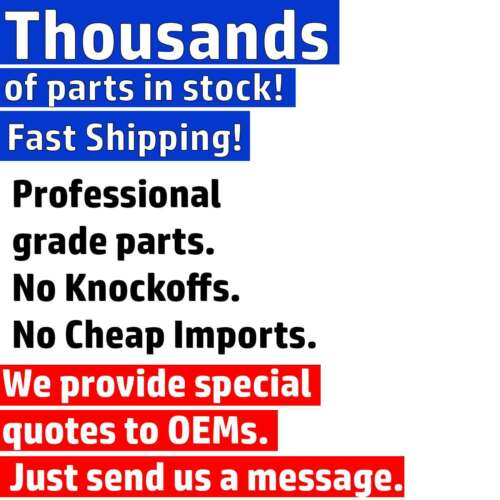 """100pc Foster 10-3 Heavy-Duty 1//4/"""" Industrial Plugs M Style Air Hose Fittings USA"""