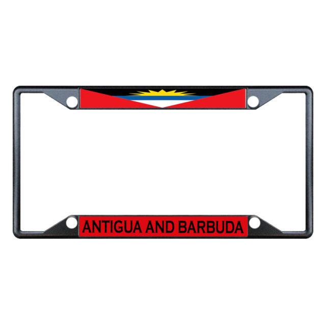 Antigua and Barbuda License Plate Auto Car Truck Flag Sign Metal Soca Calypso