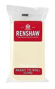 Celebration Renshaw Ready To Roll Icing Fondant Cake Regalice Sugarpaste 2.5kg