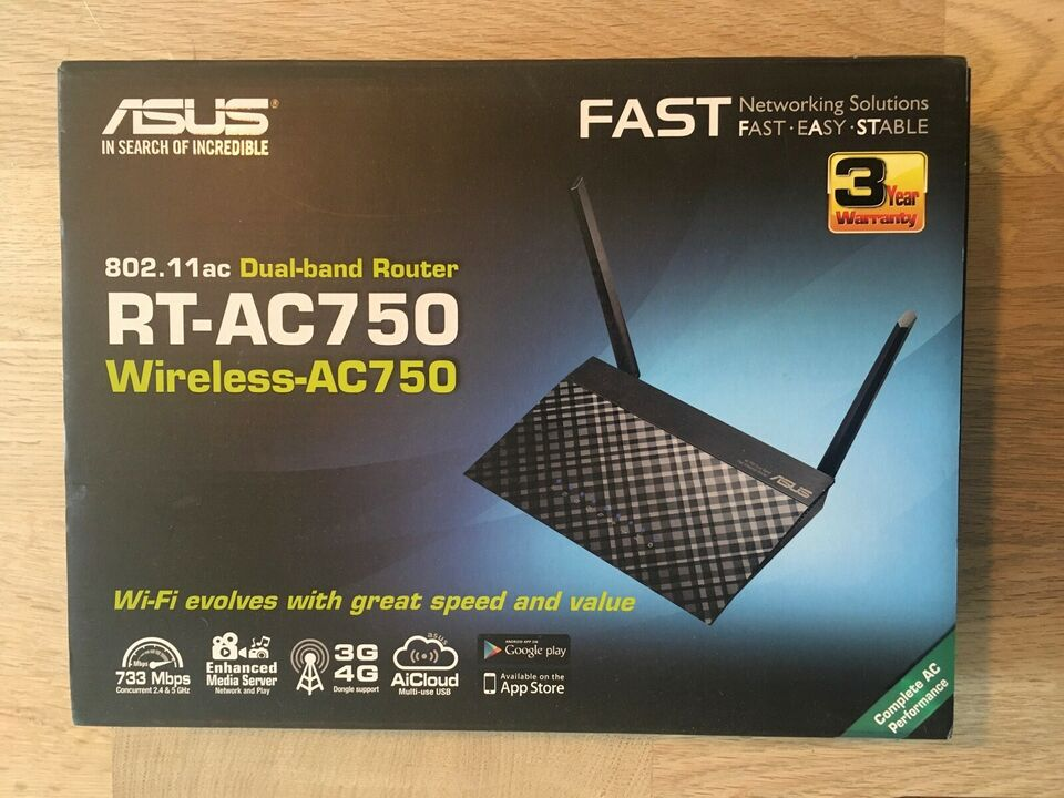 Router, Asus, God