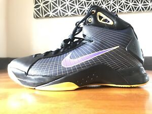 bcd9c0ac060f DS 2008 Nike Hyperdunk Supreme Kobe Lakers Away Size 11 33373 051 ...