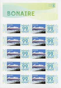 Dutch Caribbean Bonaire 2014 MNH Personal Stamps 10v S/A MS Mountains Landscapes