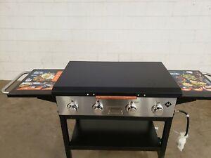 Member's Mark 4-Burner Grill griddle Hard Cover Black ALUMINUM USA MADE blk36