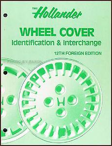Hollander-Foreign-Wheel-Cover-Hub-Cap-Interchange-Book