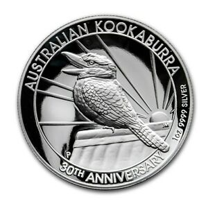 2020-Australian-Kookaburra-1-oz-High-Relief-Silver-Proof-30th-Anniversary-Coin