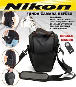 cubierta de la lluvia para D750 D850 D7200 D5600 D3400 D90 Estuche Bolsa De Cámara Nikon Con Correa cinturón