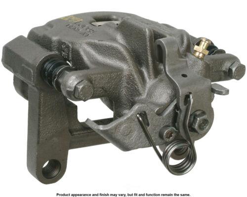 Disc Brake Caliper-Unloaded Caliper with bracket Rear Left Cardone Reman