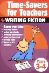Magasiner Pour Pas Cher Time-savers Pour Enseignants __ Écriture Fiction Years 3-4 _ Tout Nouveau __ Assurer IndéFiniment Une Apparence Nouvelle