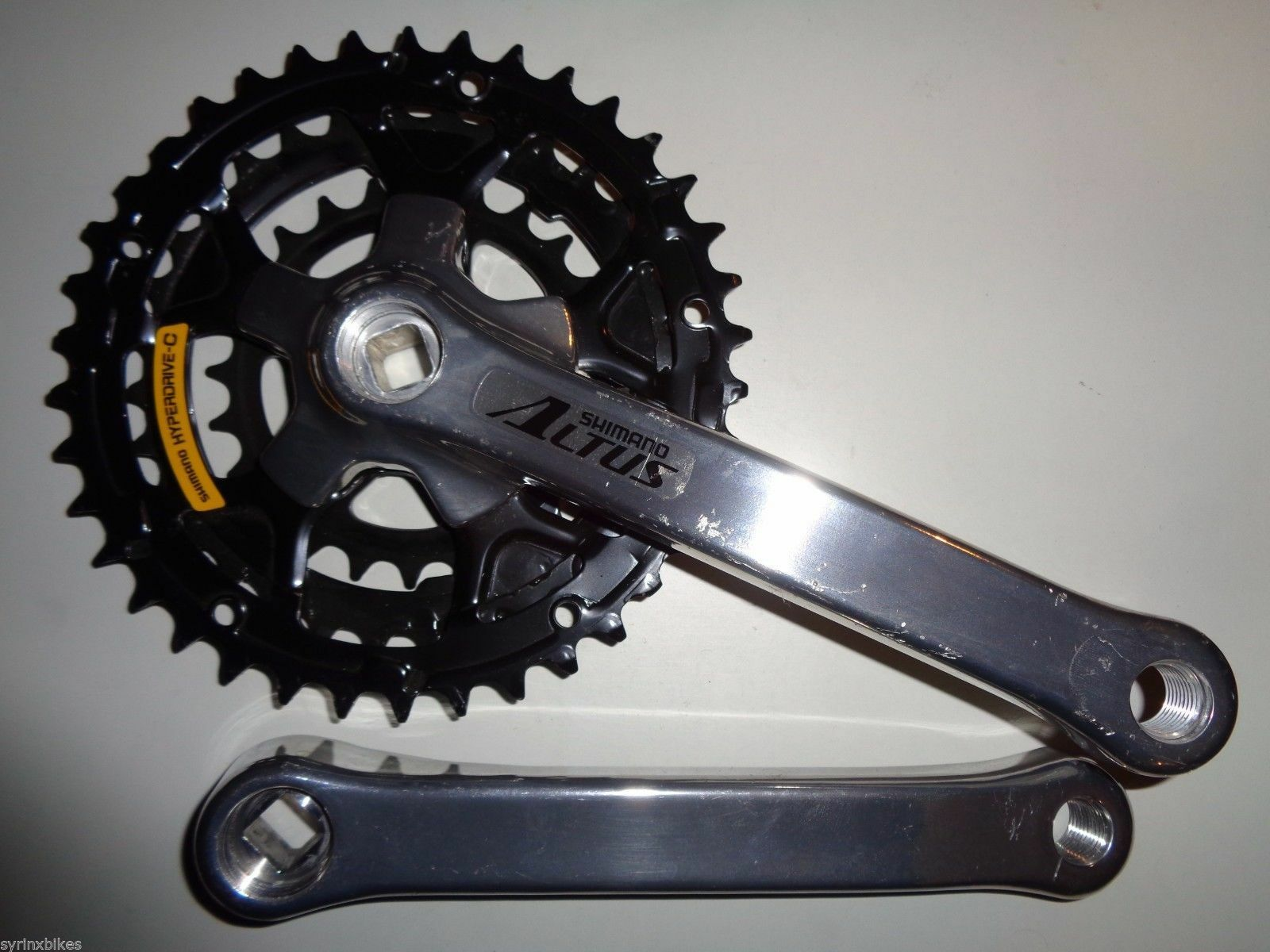 NOS Shimano ALTUS FC-CT91 Square Taper Crankset 170  mm 38-32-24 Teeth with FD  best choice