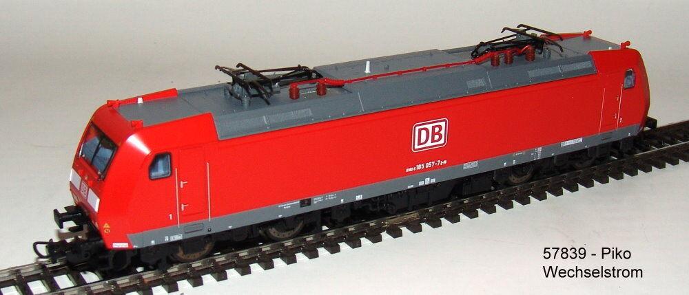 Piko 57839 E-Lok Br 185 DB Ag Versione Corrente Alternata # Nuovo in Confezione