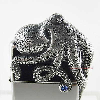 ZIPPO OCTOPUS 3D Limited Edition 0187 / 2500 in tollem Acryl Würfel!! NEU OVP