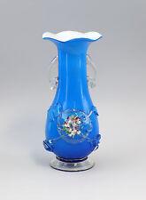 Tardi Biedermeier-VASO Boemia metà del 19.. JH fiori vetro 99835196