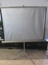 "Da-Lite 48"" x 43"" Portable Tripod Projection Screen, Used"