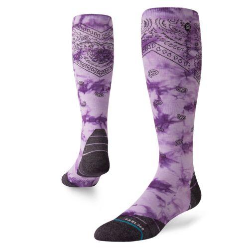 Stance NEW Men/'s Honshu Snow Socks Lavendar BNWT