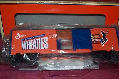 Hte Lionel #26257 Wheaties Boxcar W/ob Discounts Sale Freight Cars