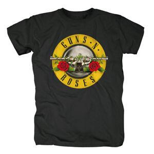 Classic Bullet Logo T-shirt Guns N´roses Fanartikel & Merchandise