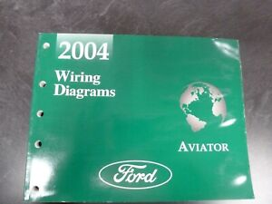 2004 Lincoln Aviator Electrical Wiring Diagrams Manual 4 ...