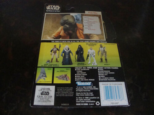 - - STAR WARS Collection 3 LE POUVOIR DE LA FORCE 1996 Ponda Baba - -