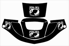 3m Speedglas 9000 9002 X Xf Auto Sw Jig Welding Helmet Decal Sticker Pow Mia