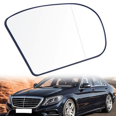 Heated Door Mirror Glass and Backing Plate LEFT fits 2003-2006 MB E-class W211