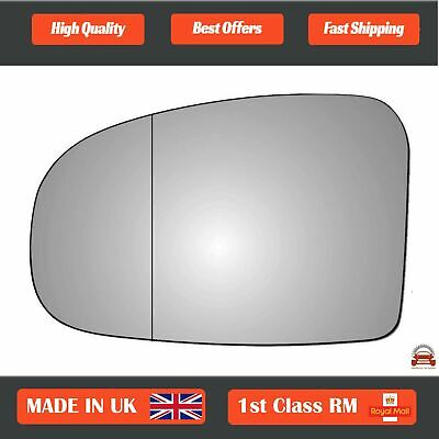 Right Driver Side WIDE ANGLE WING DOOR MIRROR GLASS For Toyota Prius 2009-2015