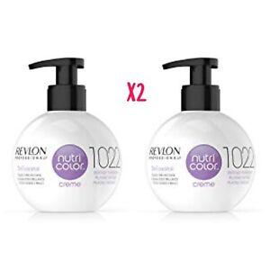 Revlon-Nutri-Color-Conditioning-Creme-1022-INTENSE-PLATINUM-270ml-BALL-X2