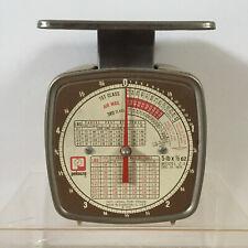 Vintage Pelouze Dec 1975 Model Z 5 Mechanical Postal Scale 5 Lbs X 12 Oz Diet