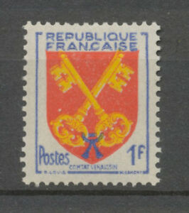 Timbre-France-N-1047-JAUNE-DECALE-Neuf-SUP-X3926