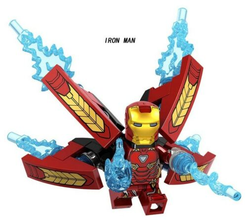 New 2019 Single Avengers Infinity War Iron Man Heroes Toys Gifts Building Blocks
