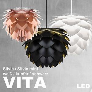 vita silvia lampe kabel set led wei schwarz kupfer pendelleuchte leuchte. Black Bedroom Furniture Sets. Home Design Ideas