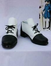 Black Butler Theatrical Version Ciel Phantomhive Luxury Boots Cosplay Shoes