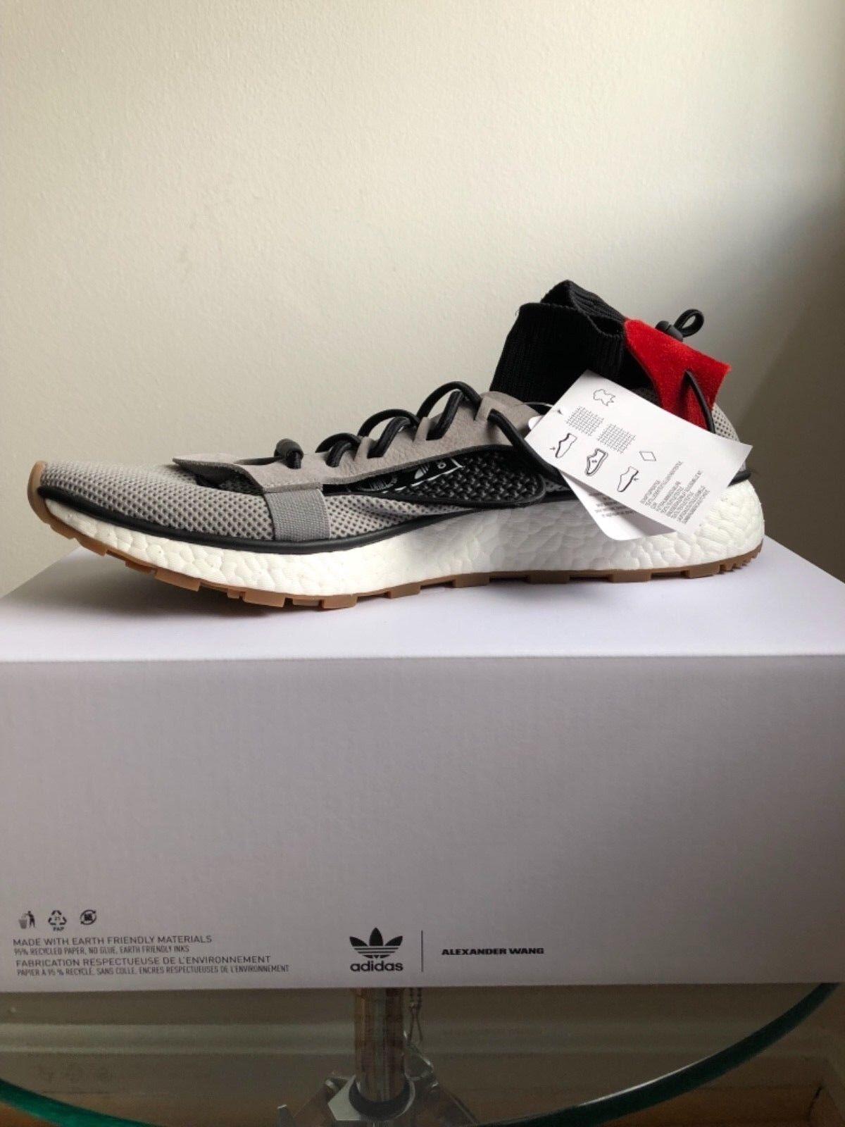 AW Run size 11 Grey Red Gum. Adidas X Alexander Wang CM7826 ultra boost NMD