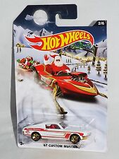 Hot Wheels 2015 Holiday Hot Rods Wal-Mart Exclusives 2/6 '67 Custom Mustang