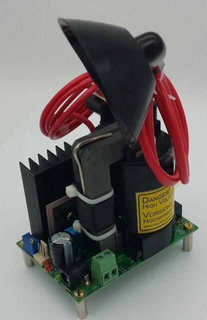 Hochspannungsnetzteil +40kV mit Strombegrenzung, Hochspannungsgenerator 12V in
