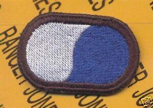 108th MI Bn LRS Airborne Ranger para oval patch 8th ID