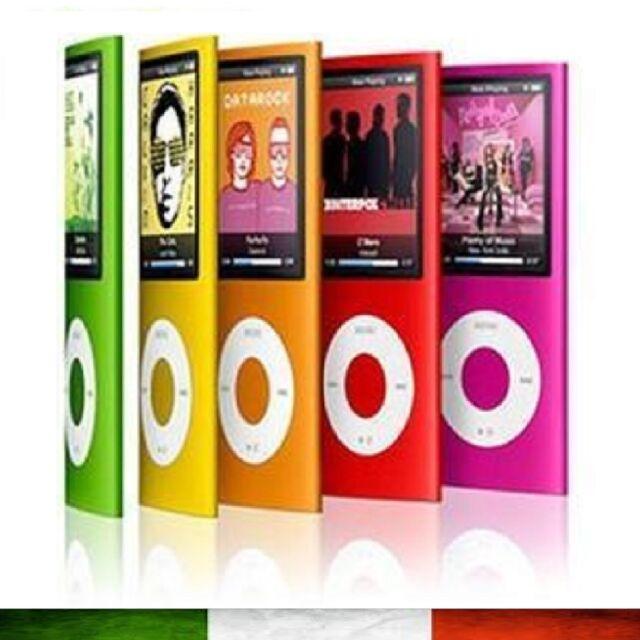 LETTORE PLAYER MP4 MP3 4GB 8GB 16GB 32GB VIDEO AUDIO FOTO RADIO FM DIVX NEW
