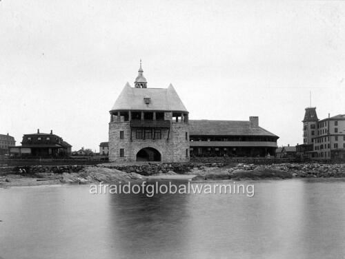 Rhode Island Narragansett Pier Casino ca 1890 Photo