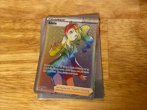 Sonia 203//192 Rebel and Clash Pokemon Secret Rare NM//M