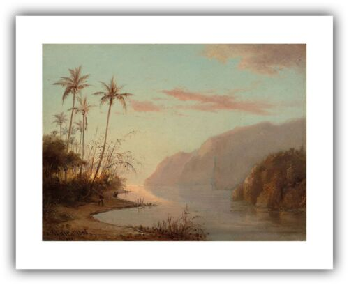 "/"" — Fine Art Print Virgin Islands Thomas Camille Pissarro : /""A Creek in St"