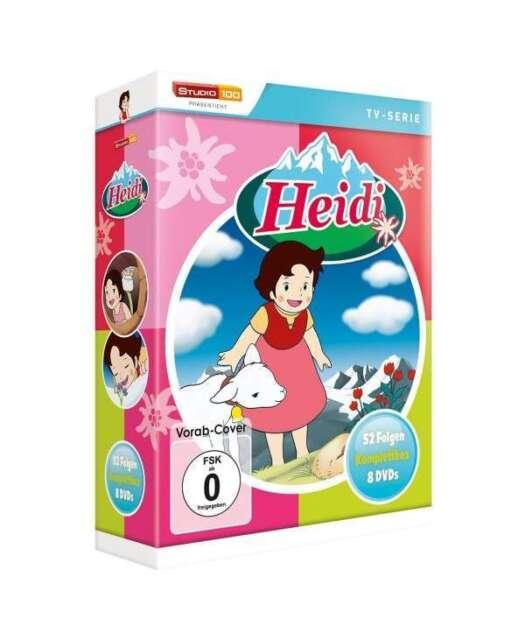 Heidi - Komplettbox - Folge 1-52 -TV Serie - Classic - 8 DVD Box