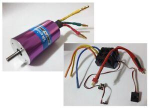 Combo-sin-Escobillas-Skyion-Bl-Motor-2048KV-Regulador-Esc-80A-Modelo-RC-1-8
